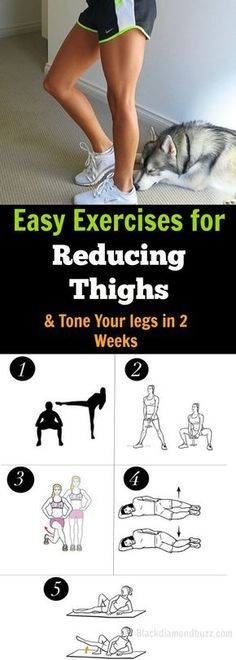 How do you tone your inner thighs and Shrink your thighs? Try these Easy Exercises for Reducing Thighs and Tone Your legs in 2 Weeks