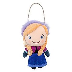 Disney Anna Plush Purse - Frozen | Disney StoreAnna Plush Purse - Frozen - Your young adventurer will travel with her coins and tiny treasures safely stored in Anna's soft plush coin purse, which functions both as a doll for play and a pouch for pay!