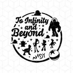 SVG To Infinity and Beyond SVG Toy Story Pixar Cricut SVG | Etsy Disney Diy, Disney Crafts, Disney Trips, Real Friendship Quotes, Bff Quotes, Friend Quotes, Toy Story Room, Vinyl Ornaments, Festa Toy Story