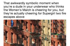People Are Screaming After This Guy Mistakenly Thought The Women's March Was Cheering Him