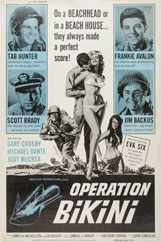 Operation Bikini, de Anthony Carras, 1963