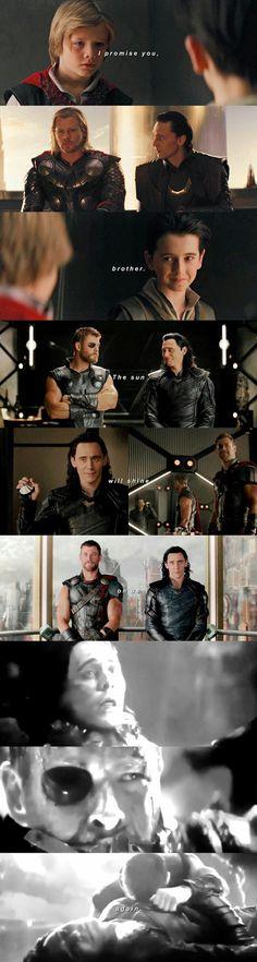 """I assure you brother, the sun will shine on us again."" AHHHH"