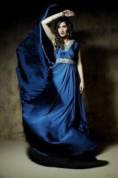 Wajahat Mansoor Latest Formal Dresses/Evening Dresses 2014