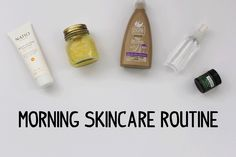 MORNING SKINCARE ROUTINE / CRUELTY FREE