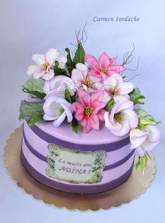 Flowers cake - Cake by Carmen Iordache - CakesDecor