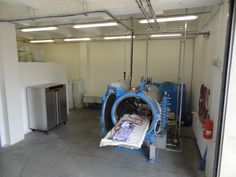 On the left is the MEMMERT UF 750 PLUS oven.  Interior Heating Concept 1040 x1200 x 600mm Temperature Range Min 10 Degrees Celsius above ambient Max +300 Degrees Celsius  On the right is the MAROSO AUTOCLAVE Electric heating system Internal diameter: 1m Internal useful length: 2m Internal volume: 8m3 Working pressure: 10 bar Max working temperature: 200 Celsius Ten (10) connections of controlled vacuum lines