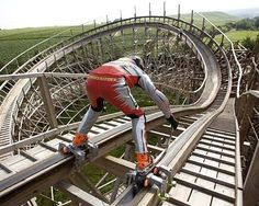 The Crazy Adrenaline Junkie | The 12 Kinds Of People You'll See At An Amusement Park