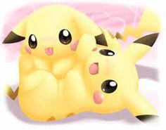 Resultado de imagen para imagenes de pikachu tierno