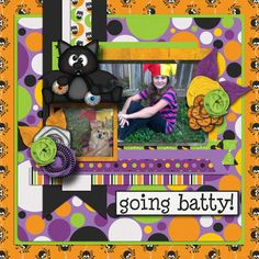 Kit used: Batty For Candy by BoomersGirl Designs available at http://store.gingerscraps.net/Batty-for-Candy.html  Template by Aprilisa.