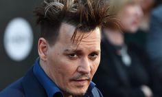 Johnny Depp: an unruly misfit who has a troubled relationship with fame…
