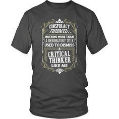 Truth Seeker Shirt - A Critical Thinker Like Me