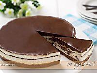 Torta fredda Kinder Pinguì senza forno   Ho Voglia di Dolce