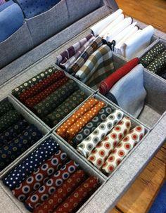 thecucinellist:    Patterned pocket squares.