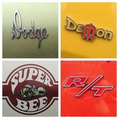 # Dodge Muscle Car badges