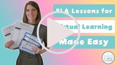 ELA ideas and activities for virtual learning! #vestals21stcenturyclassroom #elaactivities #virtualela #virtualreading #virtualwriting #virtuallearning #edtech #elagames