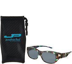 0a2fd85993 Jonathan Paul Polarized Fitovers Sunglasses with AR Coating