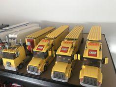 Transporter Van, Lego Furniture, Lego Truck, Lego Construction, Lego Models, Cool Lego, Building Ideas, Legos, Star Wars