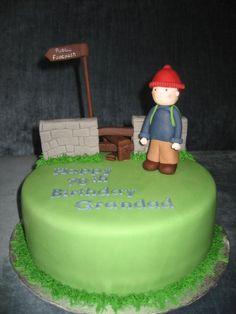 Rambler Cake 60th Birthday, Birthday Cakes, Birthday Ideas, Dad Cake, Cakes For Men, 50th Wedding Anniversary, Novelty Cakes, Themed Cakes, How To Make Cake