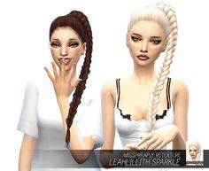 Miss Paraply: Leahlillith`s Sparkle hair retextured  - Sims 4 Hairs - http://sims4hairs.com/miss-paraply-leahlilliths-sparkle-hair-retextured/