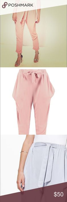 Tailored Dressy Jogger Slacks Made in UK Message with questions! High quality European slacks come in black, nude pink, and lavender!! Zara Pants