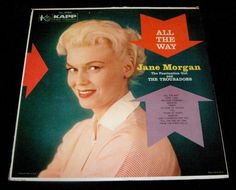 Vintage JANE MORGAN and the Troubadors ALL THE WAY LP Album - Vinyl KAPP Records #KAPPRecords #EasyListening