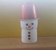 Schneemann Nespresso Nespresso, Winter, Snowman, Handarbeit, Winter Fashion