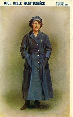 British Female Munitions Worker, via Flickr.