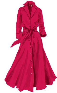 Long-Sleeve 1947 Dress available at JPeterman.com.