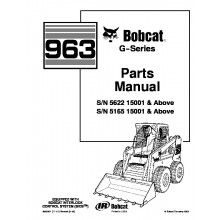 Bobcat 873 G-Series Skid Steer Loader Parts Manual PDF