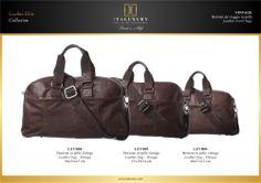 #Borsoni da viaggio in #pelle #vintage / #Leather travel #bags - #Vintage by ITALUXURY | #Luxury Leather Goods & Accessories - Made in Italy. Website: www.italuxury.com