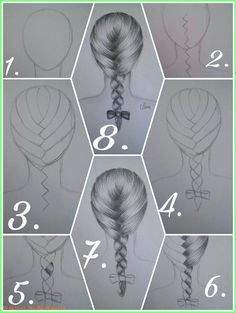 to draw a French braid correctly? pencil Leni How to draw a French braid correctly? pencil Leni How to draw a French braid correctly? Girl Drawing Sketches, Art Drawings Sketches Simple, Pencil Art Drawings, Easy Drawings, Pencil Drawings For Beginners, How To Draw Braids, How To Draw Hair, Drawing Techniques, Drawing Tips