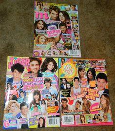 3 Teen Magazines 2009 Tiger Beat Pop Star Jonas Brothers Demi Lovato Selena | eBay