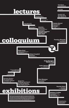 Yale School of Architecture -  Graphic Design Michael Bierut