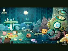 Chilling night by Warittanun Chatchutikitpinyo, via Behance