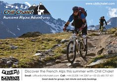 Explore the french alps in summer with Chill Chalet - great value - great location Alpine Adventure, French Alps, Great Deals, Snowboard, Mountain Biking, Chill, France, Explore, Summer