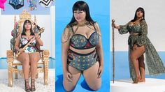 #fatshion #gabifresh #plussize Look at These Cute as Hell Plus-Size Swimsuits