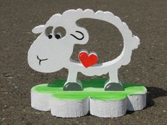 Lucy - das Schaf und Schafkind Sheep, Creative Ideas, Lawn And Garden, Kids