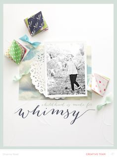 Whimsy by ShannaNoel at @Studio_Calico - let's go fly a kite