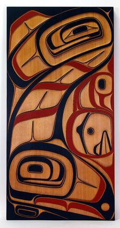 Native American Masks, Native American Artwork, Native American Wisdom, Miguel Angel, Kunst Der Aborigines, Haida Art, Tlingit, Inuit Art, Native Design