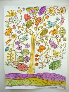 Original Watercolor Painting Sketch 9 x 12 by karenfieldsgallery, $25.00