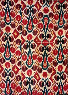 #Ikat Textile The process of making ikats has been found in many cultures around the world in addition to Central Asia, such as Afghanistan, Nepal, Greece, Morocco, Mexico, Pakistan, Thailand, Japan, and China (Online Shi-Bo-Ri Japan Museum). The Central Asian cities that are most well known for their designs of ikats are Bukhara and Samarkand as well as the towns located in the Ferghana Valley. These cities are centers for textile manufacturing, carpet weaving, and the production of ikats
