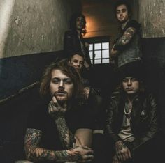 Every member of asking Alexandria is incredibly attractive!