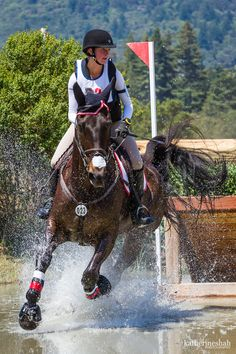 Horse Splash- Eventing (cross country jumping) Horse Splash- Eventing (cross country jumping) - Art Of Equitation Cute Horses, Horse Love, Beautiful Horses, Baby Horses, Cross Country Jumps, Equestrian Outfits, Equestrian Quotes, Equestrian Fashion, Show Jumping