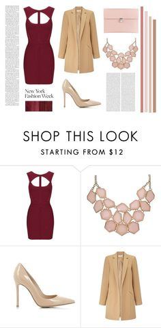 """New York Fashion Week"" by agustina-marchese ❤ liked on Polyvore featuring Gianvito Rossi, Miss Selfridge, Alexander McQueen, women's clothing, women, female, woman, misses, juniors and NYFW"