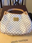 Authentic Louis Vuitton Damier Galleria PM Handbag Very good condition - $1,299 - http://www.designerhandbagspurses.net/authentic-handbag/#