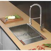 "Found it at Wayfair - Roma 32"" x 19"" Undermount Single Bowl Kitchen Sink"