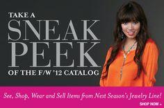 Cookie Lee's Sneak Peek of the Fall/Winter 2012 Catalog! #jewelry #CookieLee
