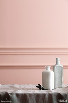 This soft paint color in Everythings Rosy, is a great way ...