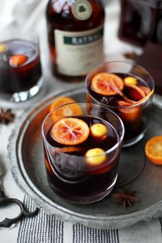 mulled wine, this evening