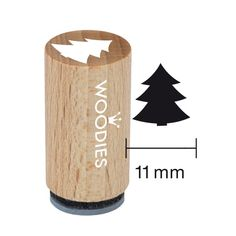 Woodies Mini Tampon Sapin, Bois, x x 3 cm Mini, Home Decor, Woodwind Instrument, Stamping Up, Creative, Presents, Do Crafts, Decoration Home, Room Decor